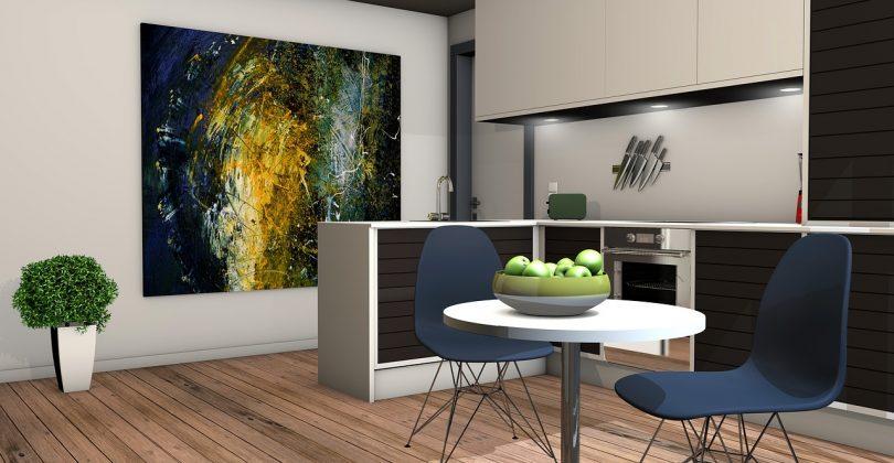Décoration salon cuisine ouverte